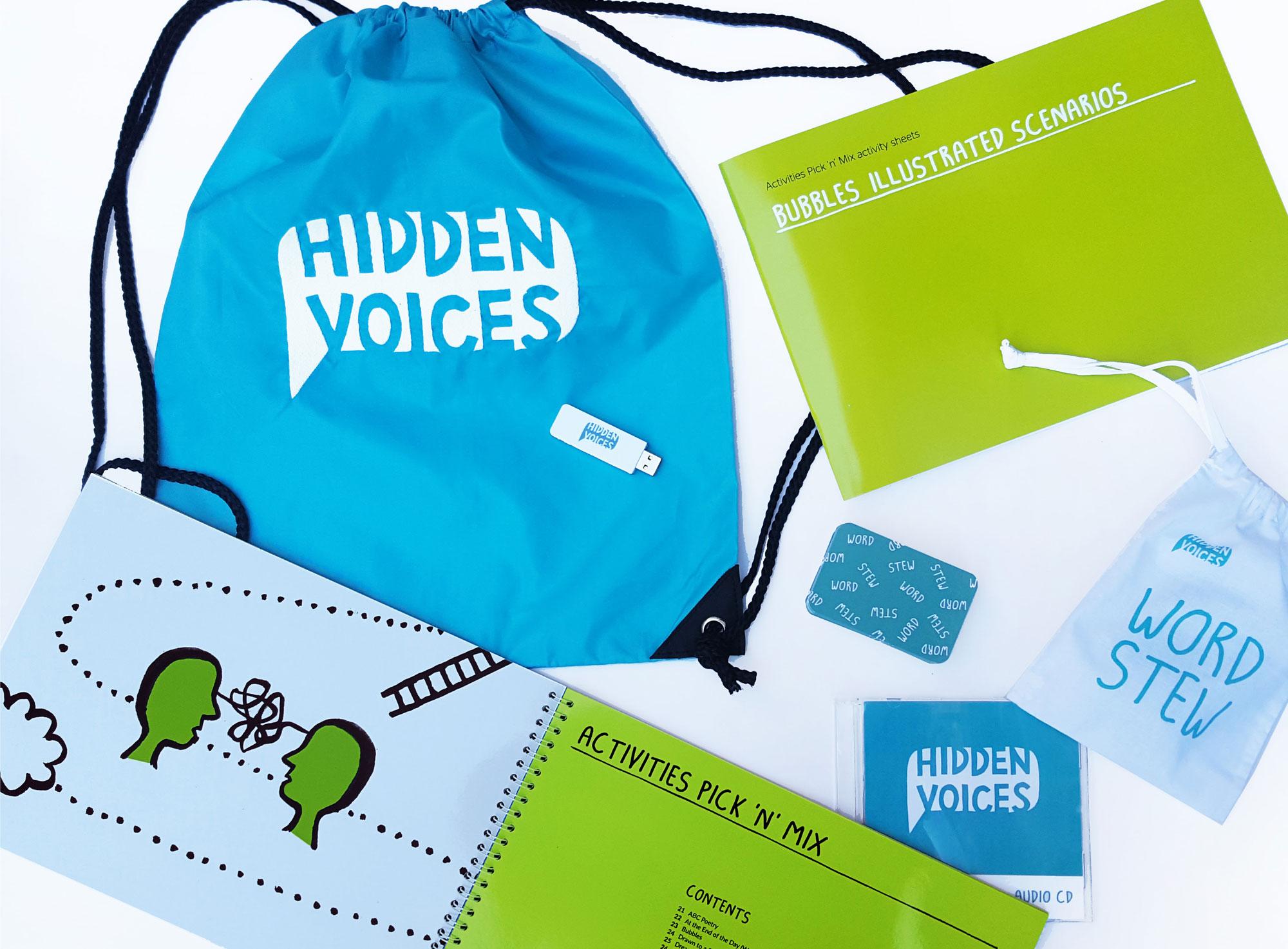 Hidden Voices resource pack design